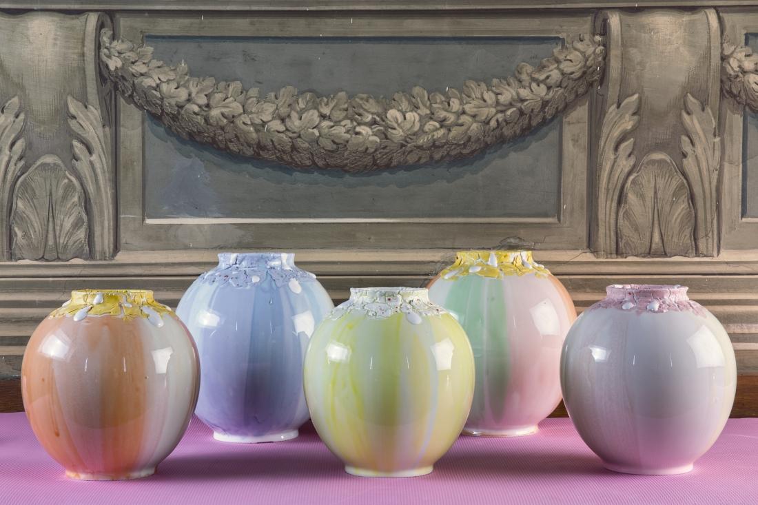 Coralla Maiuri - Alba Tramonto Vases