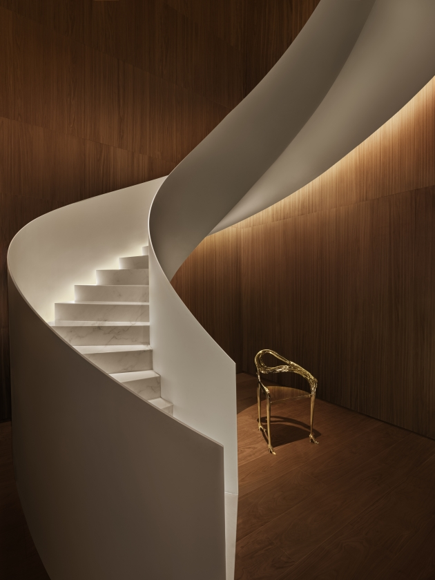 The Barcelona EDITION - Staircase to Punch Room