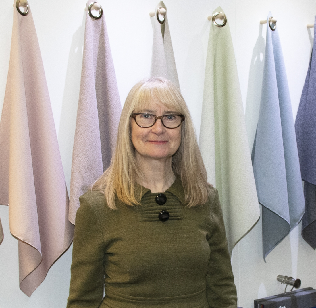 Lynn Kingdon, Head of Contract Design at Camira