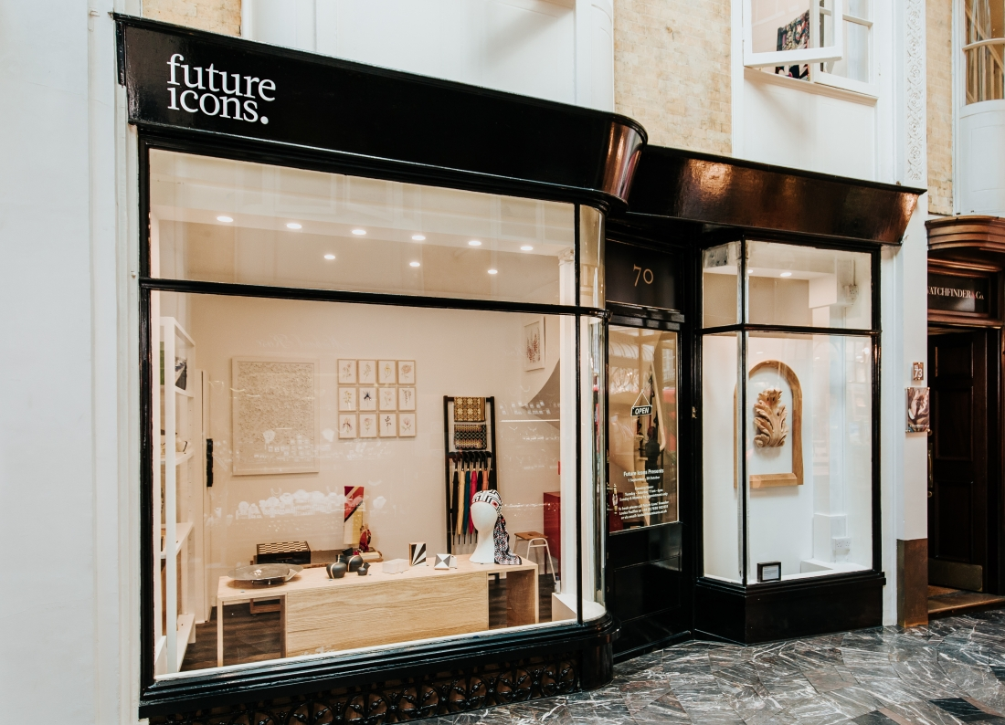 Future Icons Presents at Burlington Arcade London