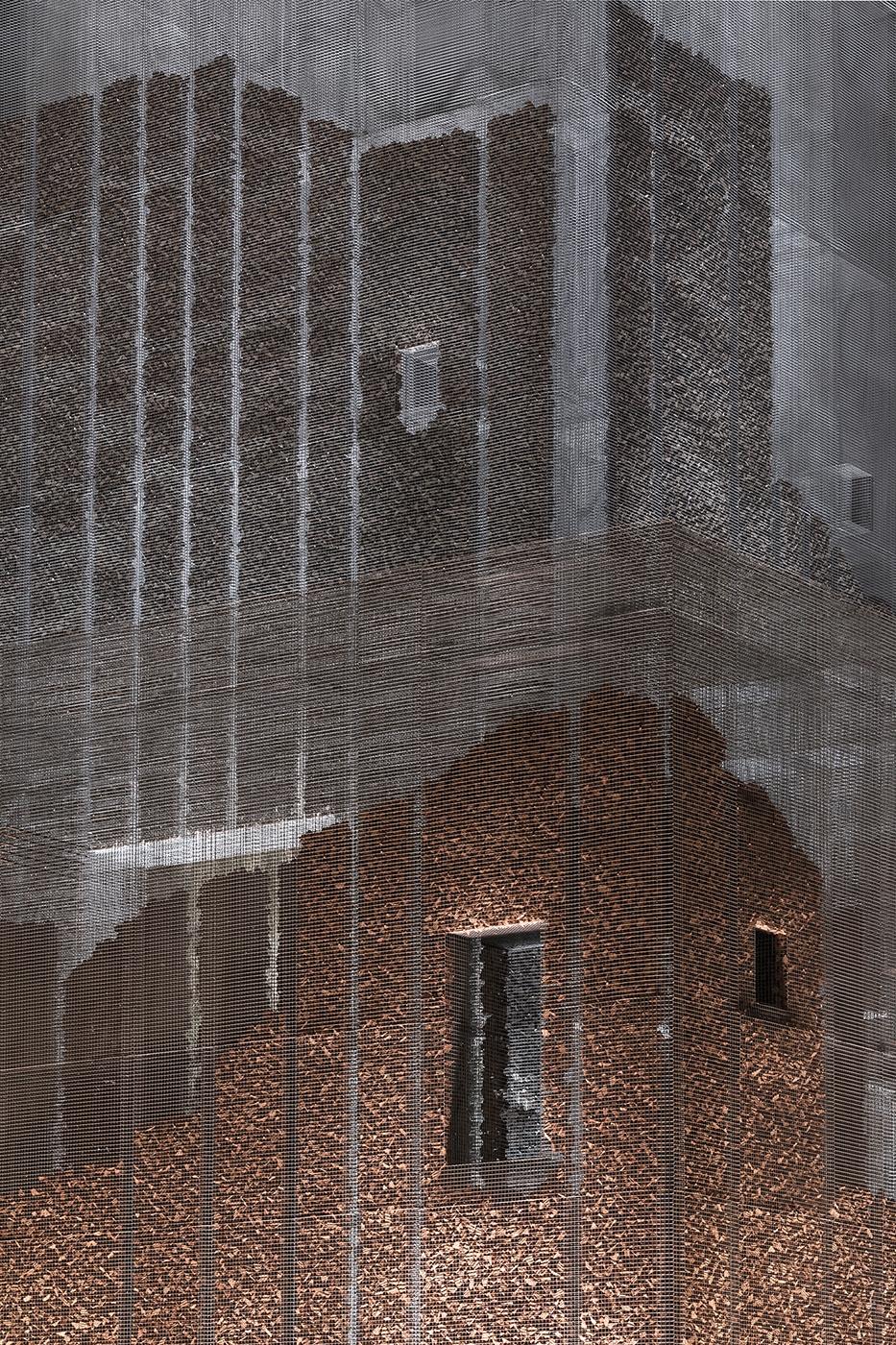Studio Studio Studio Gharfa Edoardo Tresoldi detail Diriyah Oasis designed and curated by Designlab Experience © Roberto Conte