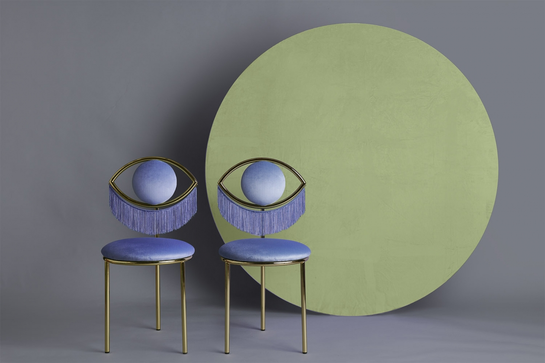 Wink Chair by Masquespacio for Houtique Image - Luis Beltran