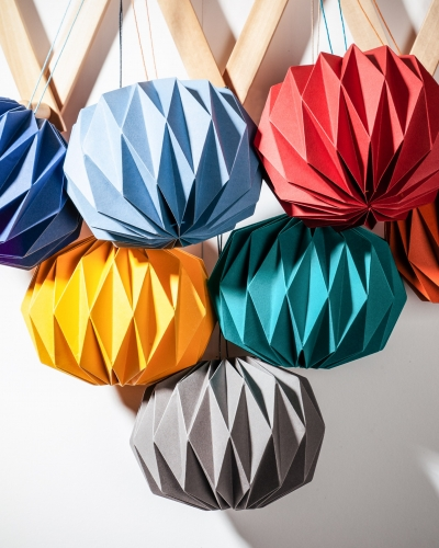 Kate Colin, Folded Baubles, Alaisdair Smith Photography