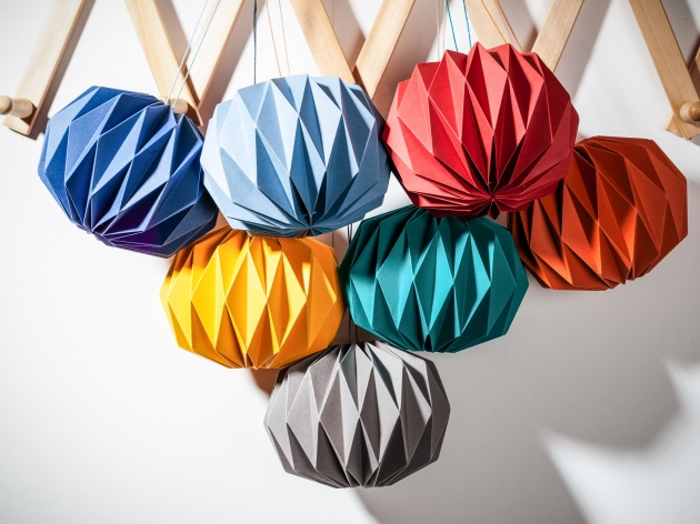 Kate Colin, Folded Baubles, Alaisdair Smith Photography