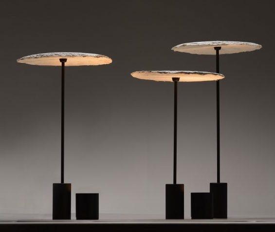 BIOHM - Mycelium lamps designed by Nir Meiri.