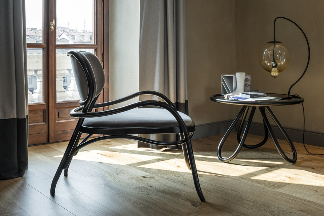 Arch coffee table, designed by Front