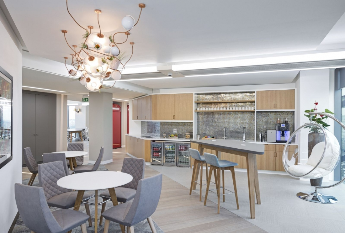 Citrix, London. Designed by MF Design Studio