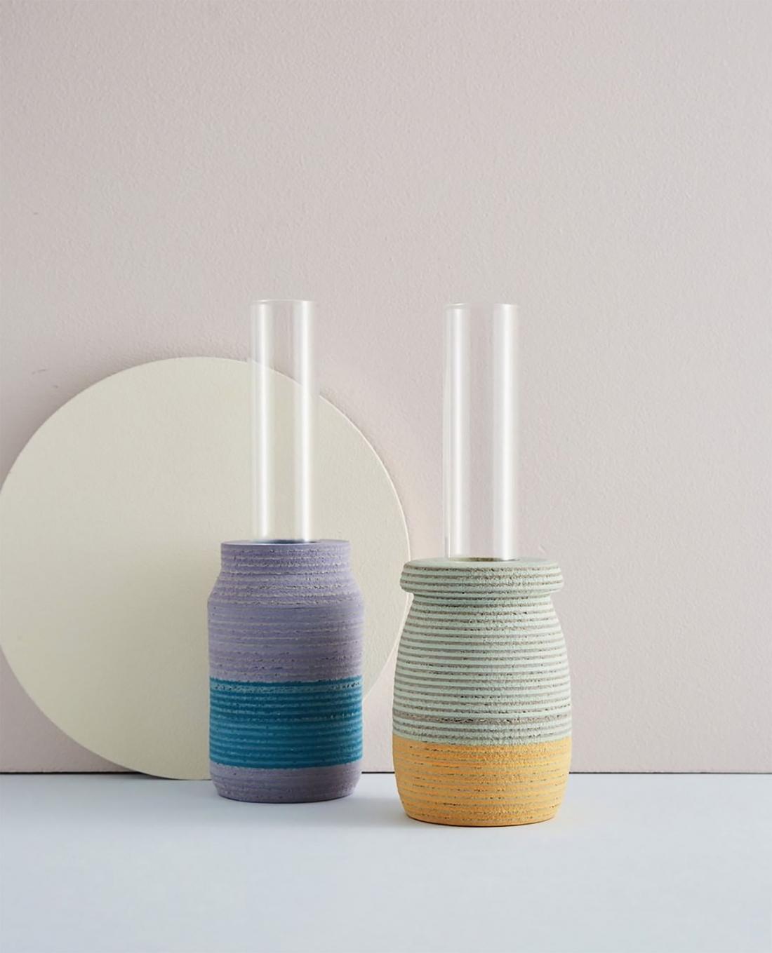 Laura-Jane Atkinson's LIO single stem vases