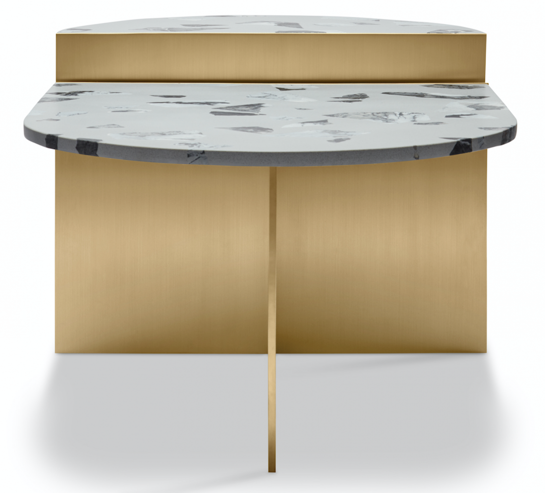 MA - TABLE OBJET - MARBLE TOP SIDE