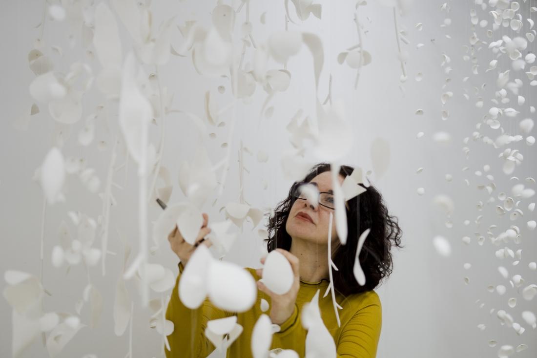 Jaggedart, Valeria Nascimento. London Craft Week 2019