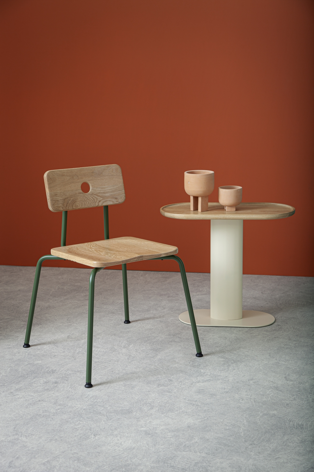 Liqui Contracts Milne Chair and Georgie Table