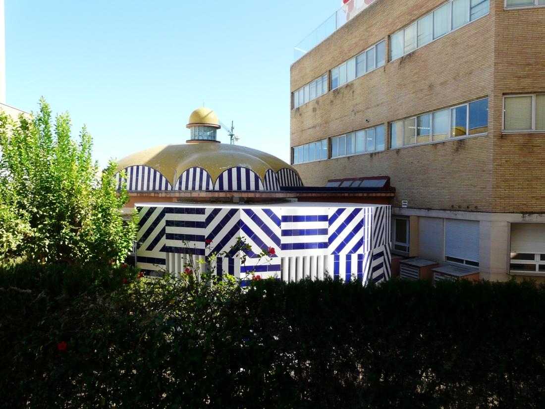 Tile of Spain - Patio valientes Elisa Valero Fernando Alda