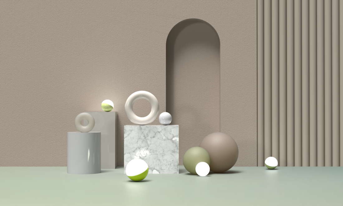 Material Collections series by Monika Studio.