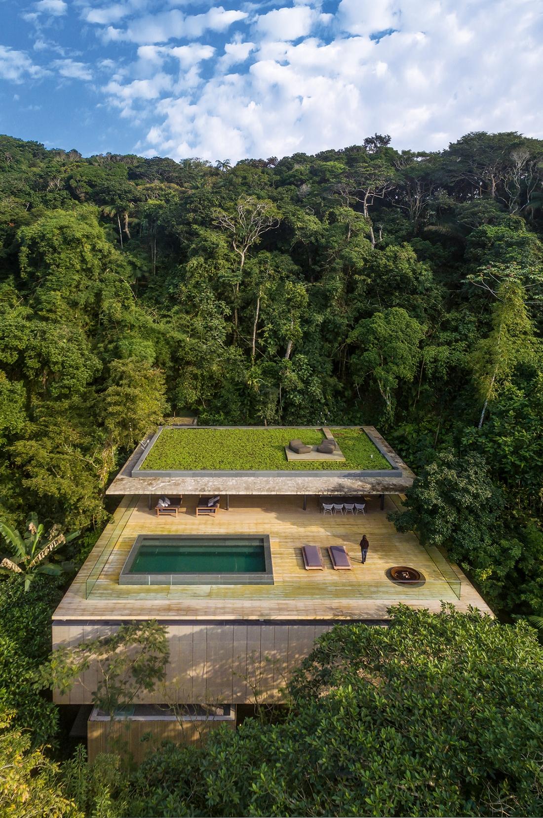 Marcio Kogan / studio mk27 – Jungle House, Guarujá, São Paulo, Brazil. Copyright: © Fernando Guerra | FG+SG