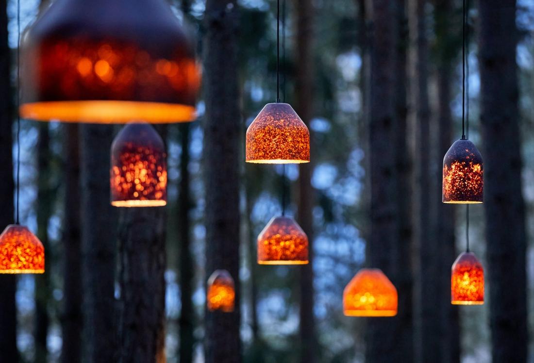 LAAB lampshades by MIYUCA Studio