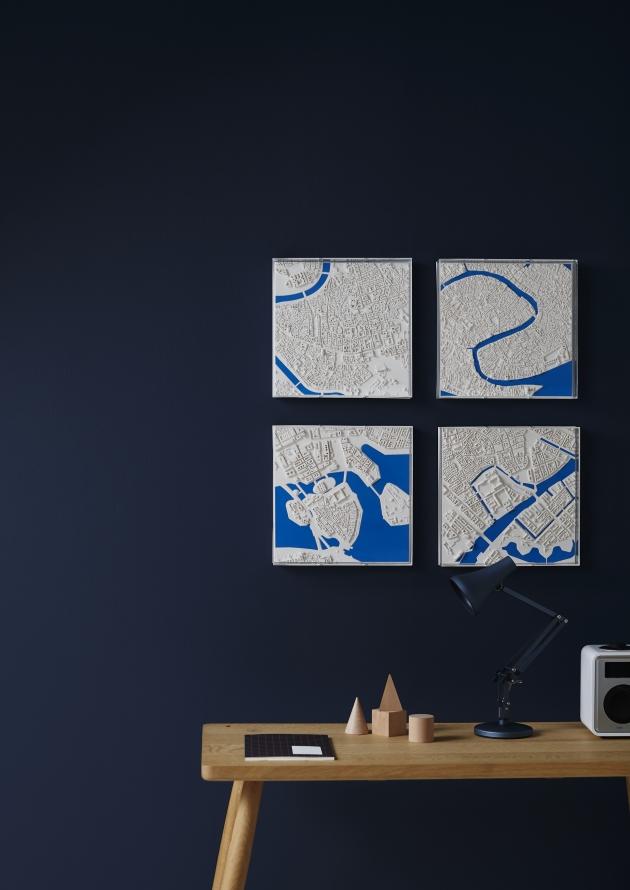 Chisel & Mouse - Blue River Series - Rome, Venice, Copenhagen, Stockholm.