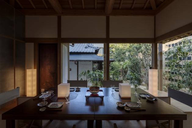 Azumaya (garden pavilion) © Tomohiro Sakashita