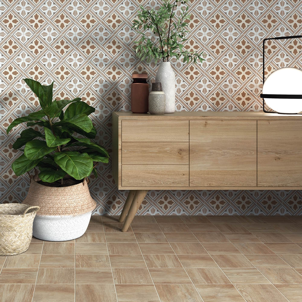 Tile of Spain Trends - Clay & Earth - Forest by Alplana