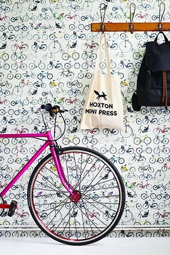 Ella Doran - Bikes of Hackney - Wallpaper