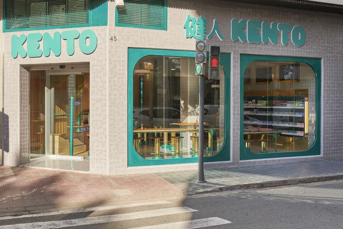Kento Sushi Gran Via by Masquespacio - Image Luis Beltran
