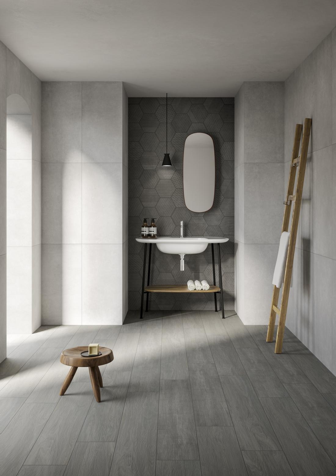 ColorCode - Urbancrete Grey and Urbanwood Grey, VitrA