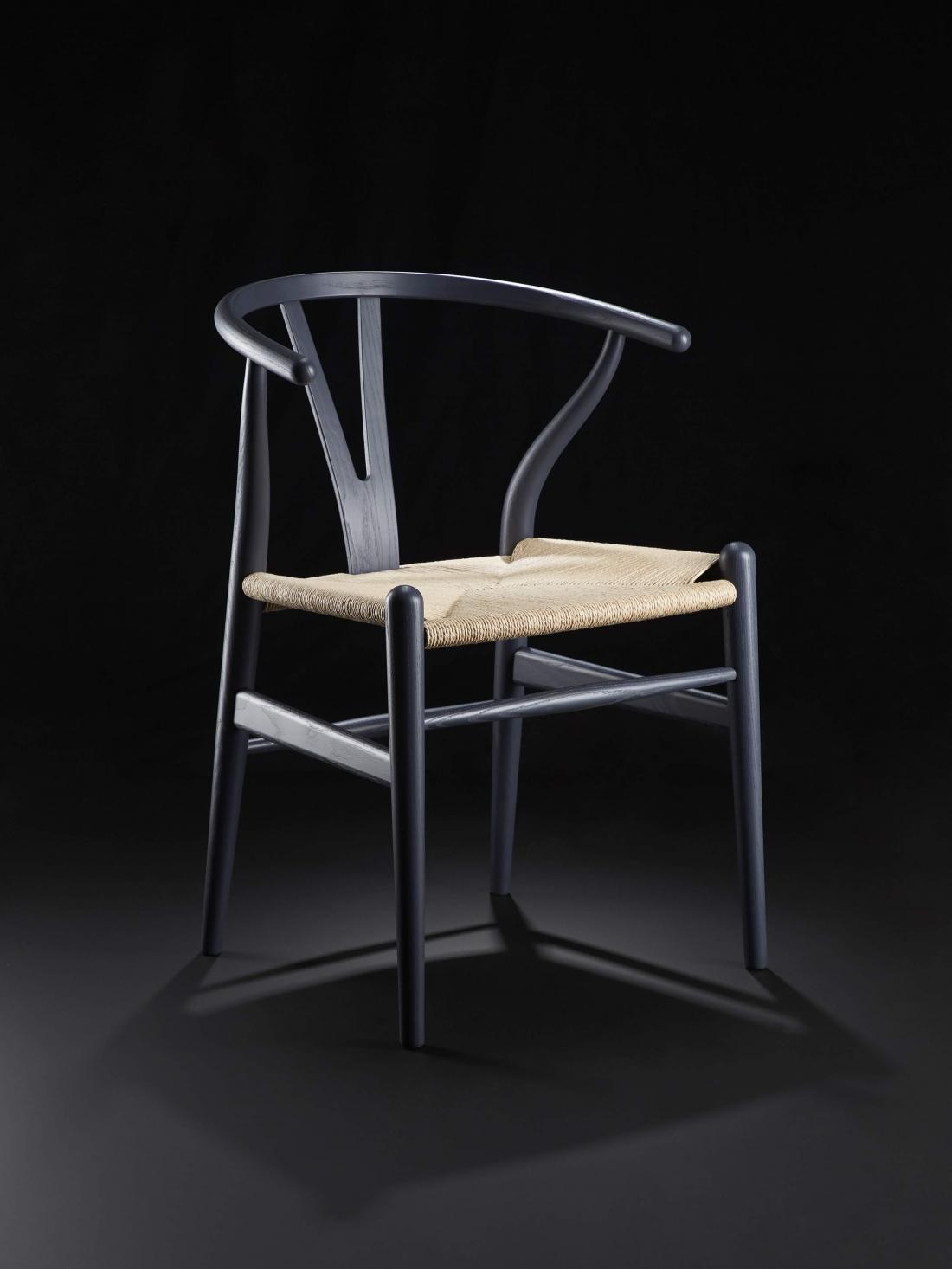 Hans J. Wegner CH24 Wishbone Chair Indigo Edition