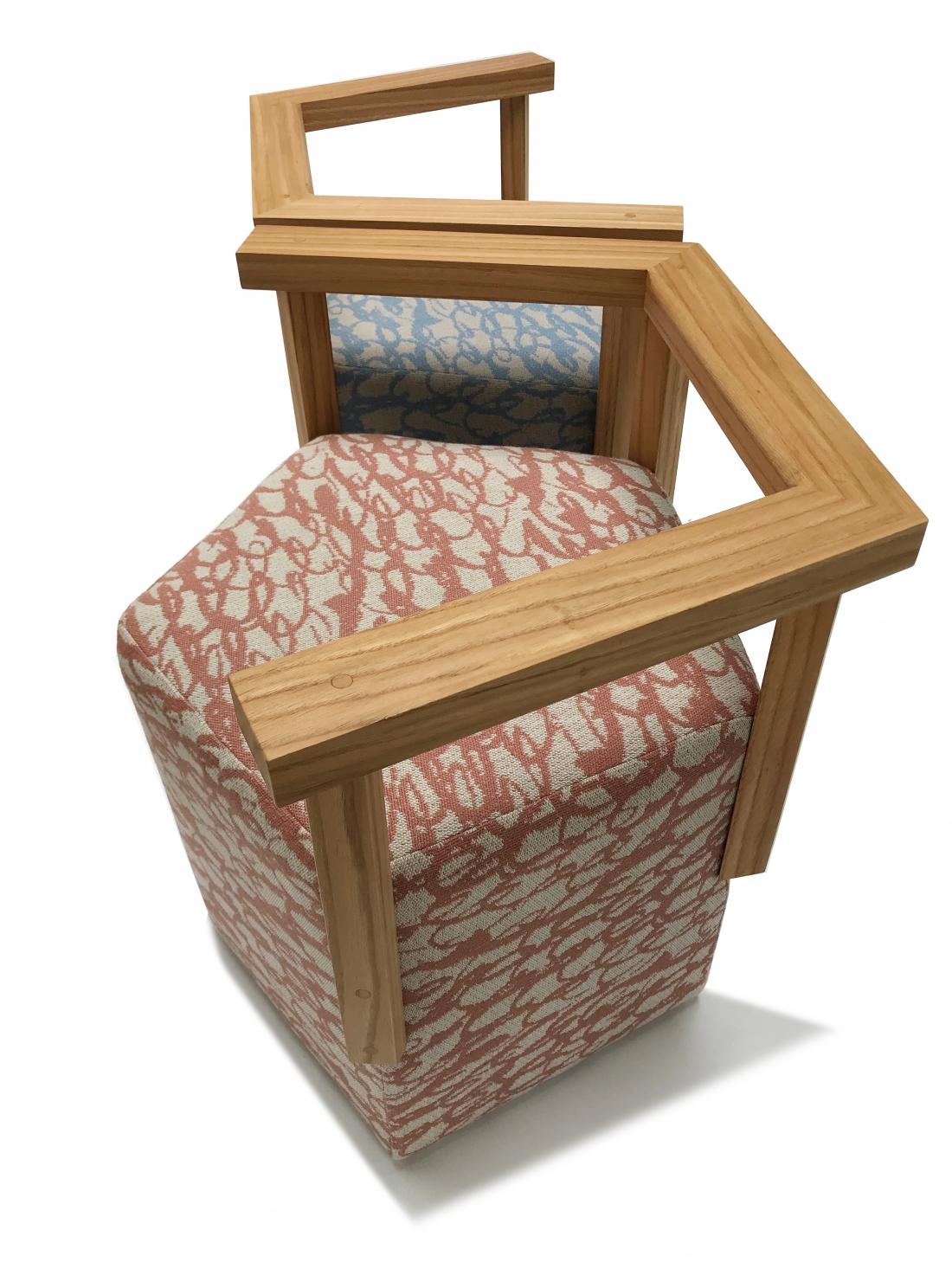 Image by Ella Doran - Julian Mayor Pentagon Chairs kissing