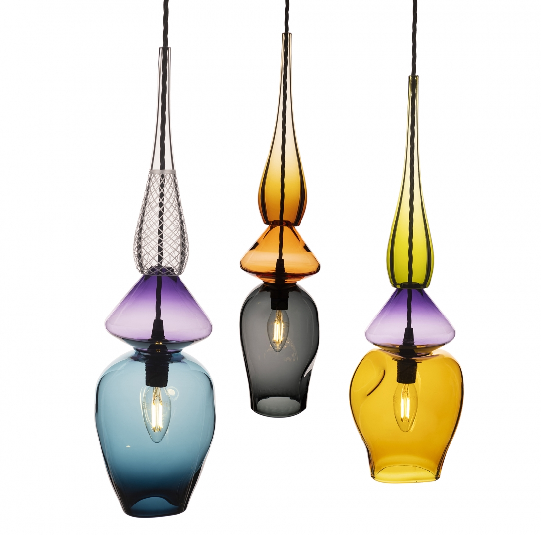 Nicola Schellander Medium Liquified Pendants.
