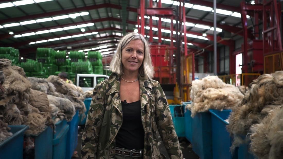 Image by Paul Wyatt - Ella Doran at British Wool Bradford
