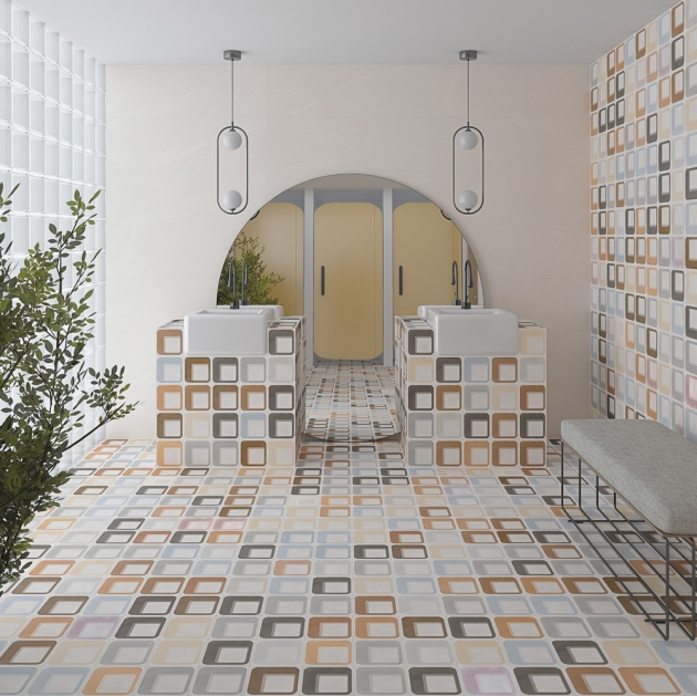 Tile of Spain Trends - Seventies Revival - Ferus by Vives