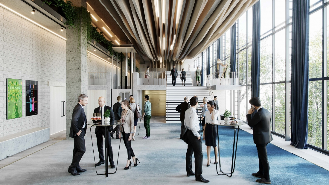 Multi-functional spaces within educational buildings