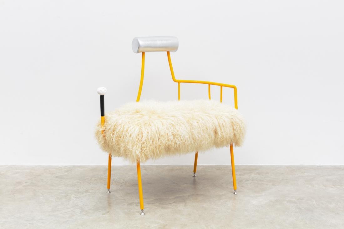 High Desert Chair, 2018 by Jonathan Trayte. Courtesy of Friedman Benda