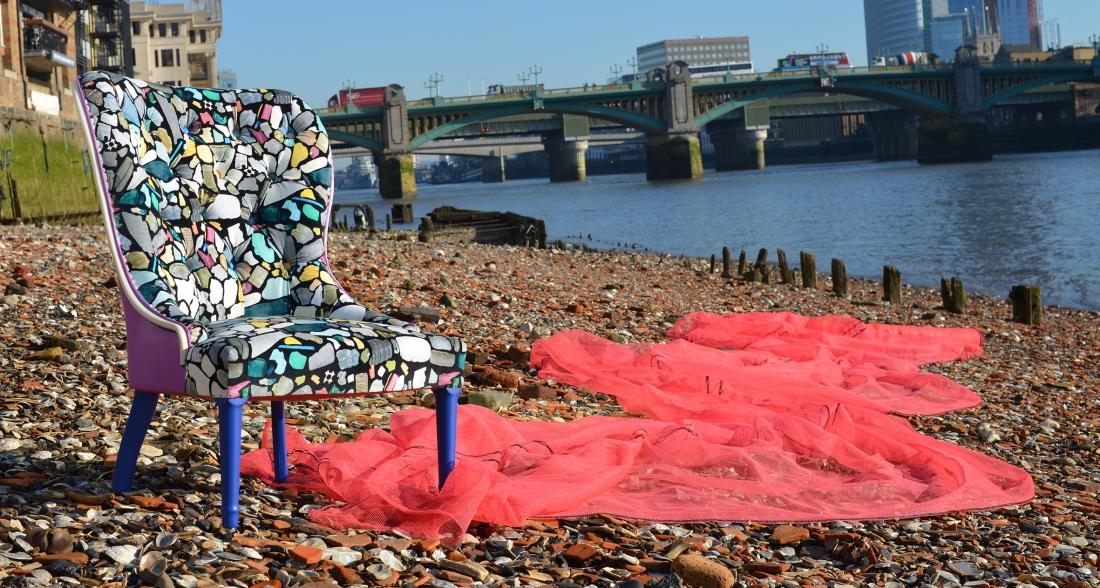 Ella Doran - The Clean Up Camo Chair