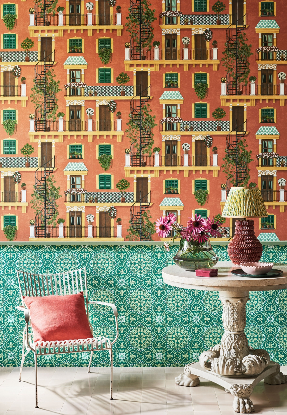 Cole & Son - Seville - Alfaro with Piccadilly