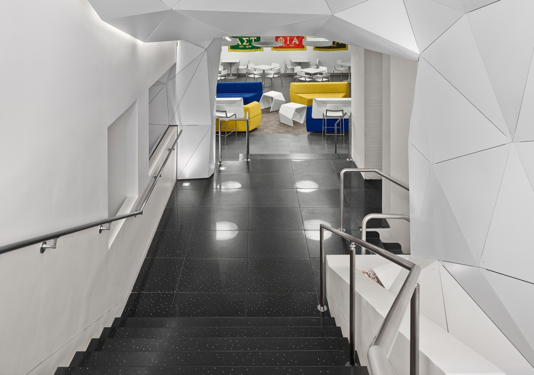 NYIT Stairs and Flooring.