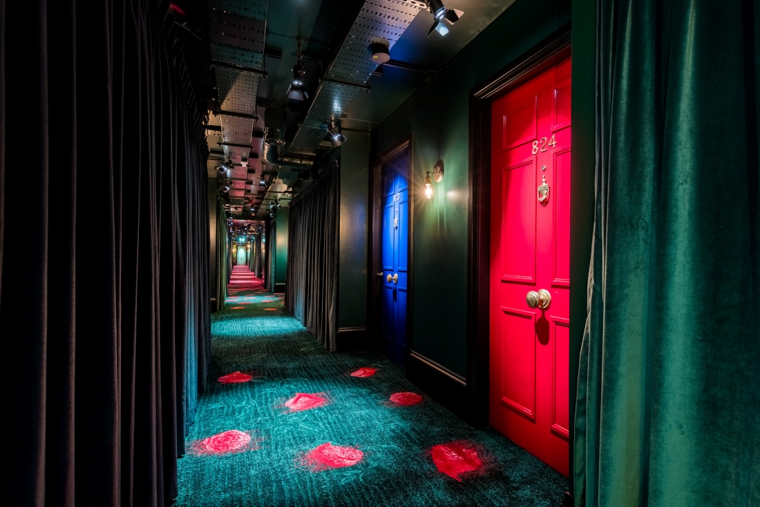 nhow London - Corridor - Project Orange