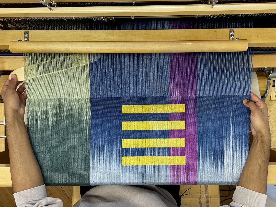 Jacob Monk, textiles, 2021