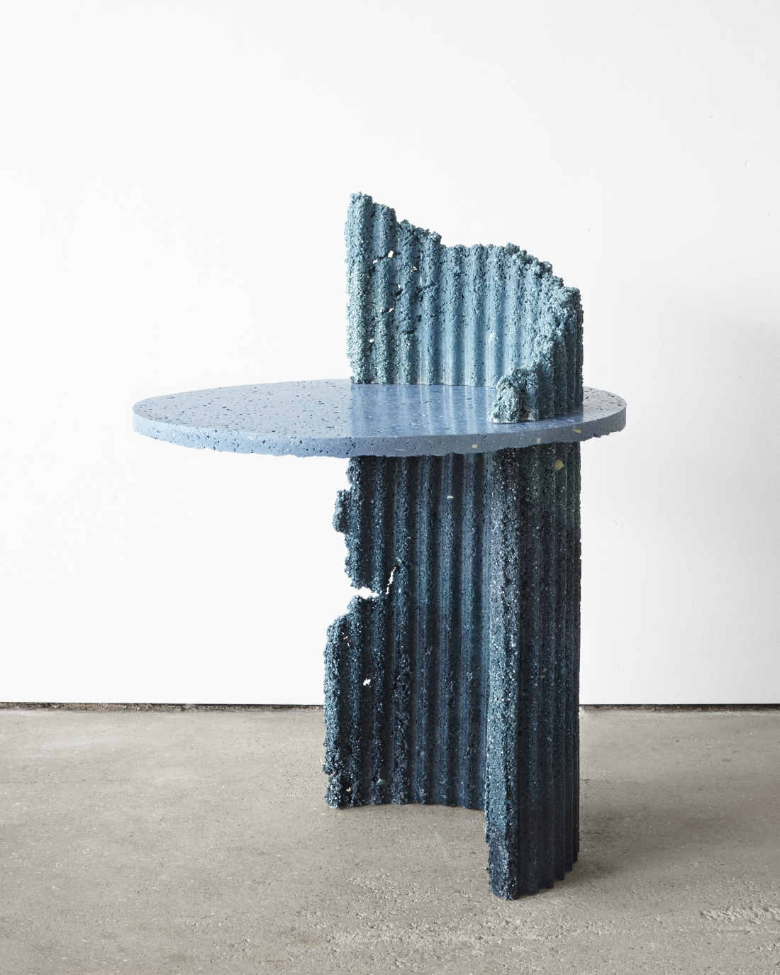 Charlotte Kidger, Industrial Craft Table, 2019. Photo: Louise Oates
