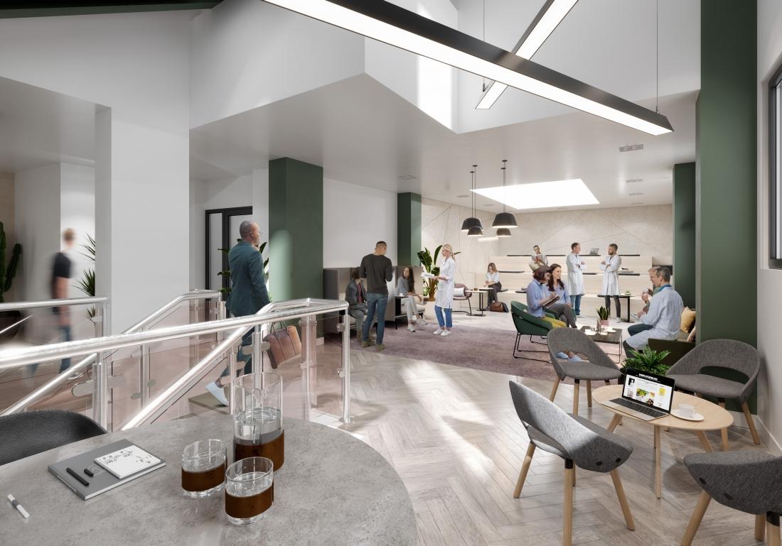 Breakout Space in Scientific building