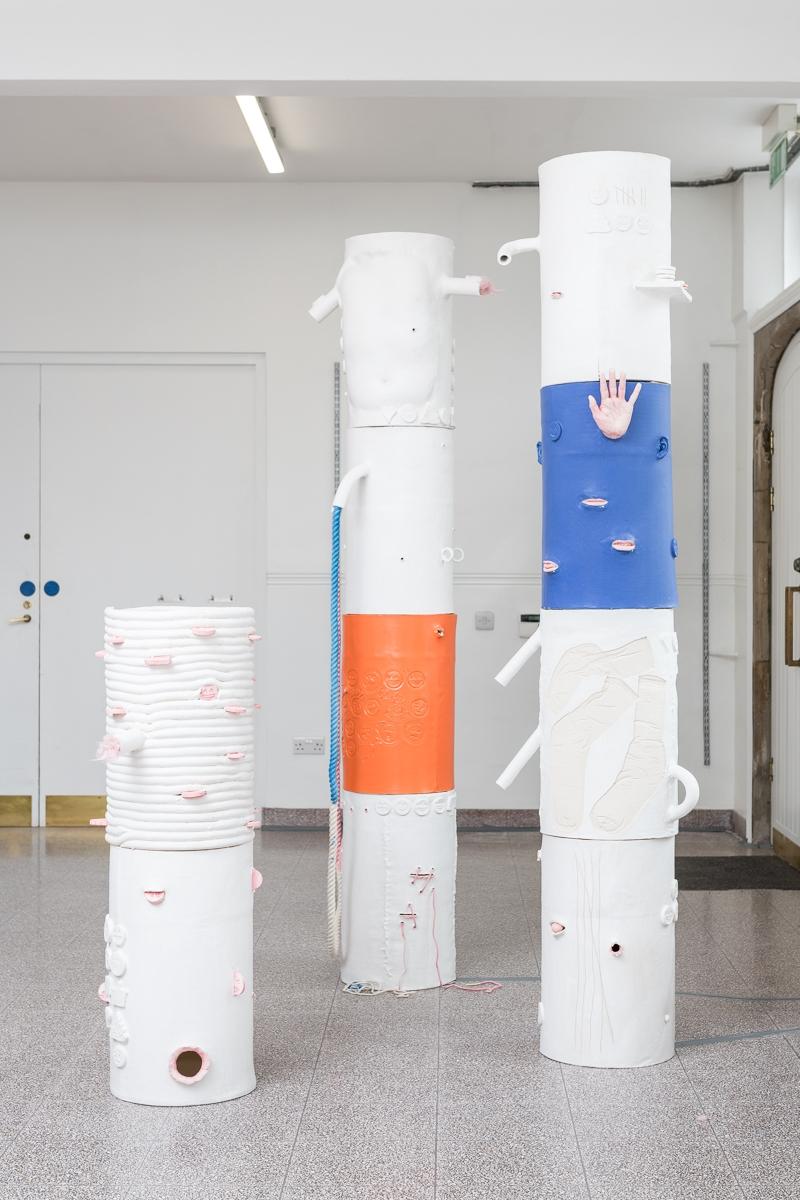Jonathan Baldock Open Studio. Courtesy of Camden Arts Centre. London Craft Week 2019
