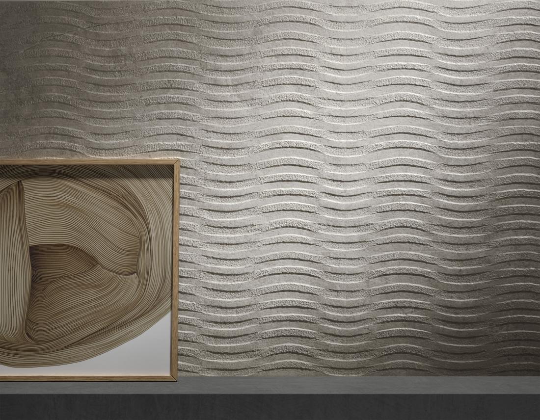 Tile of Spain Trends - Volumetric Variety - Alpine Waves by Peronda