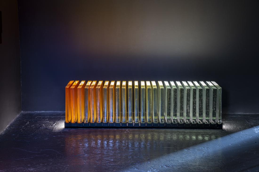 Prism by Dan Yeffet @ Fondazione Berengo Art Space (Murano) © Leonardo Duggento
