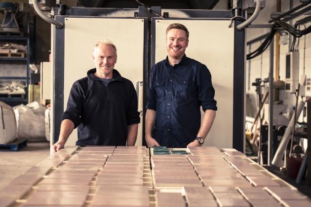 Professor David Binns and Dr Alasdair Bremner. Photography by Tim Ainsworth