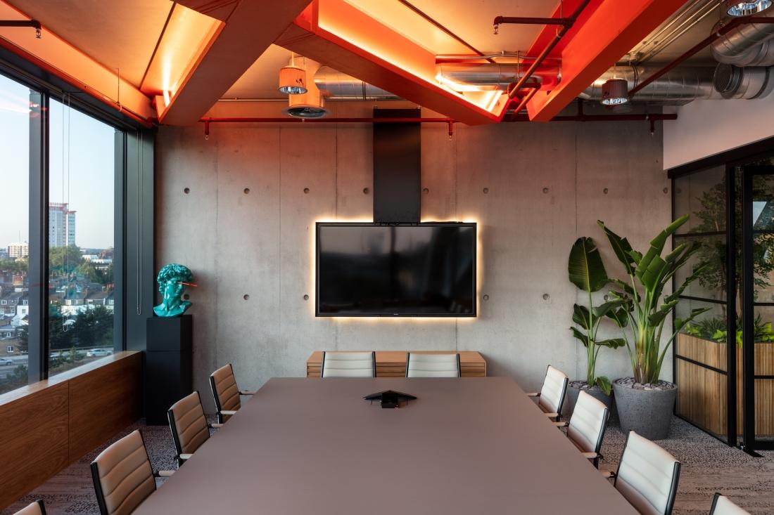 Modus Workspace AlphaFX Boardroom.