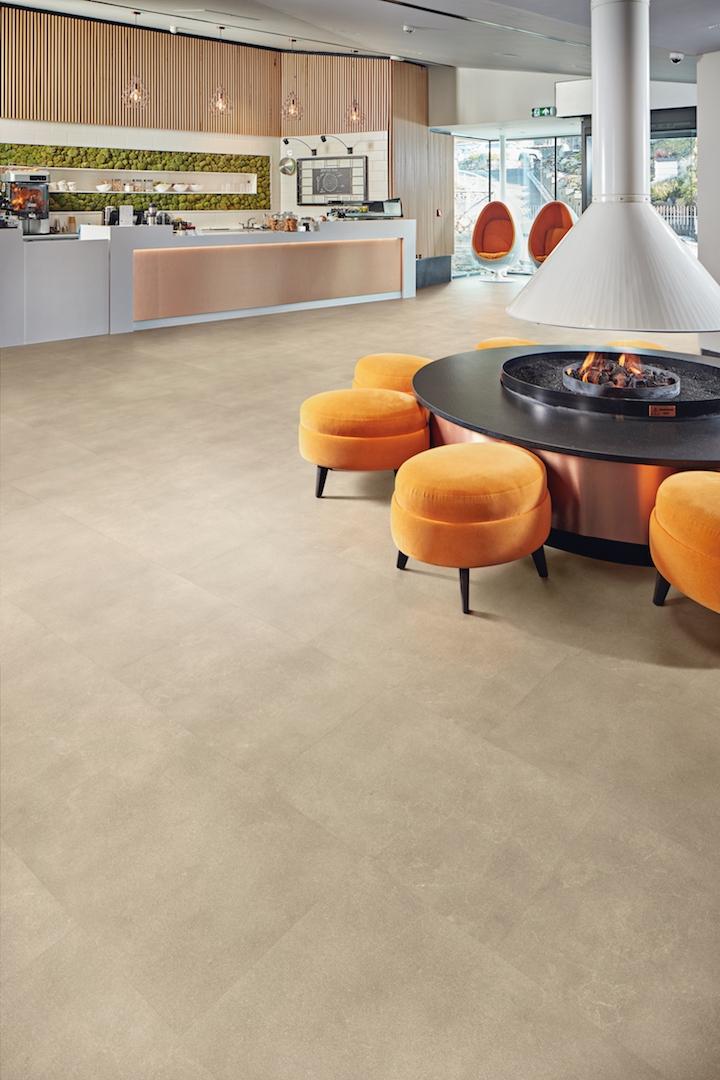 Kardean Designflooring - Korlok - RKT2405 Cotswold Stone Hotel Spa Lobby / Cafe