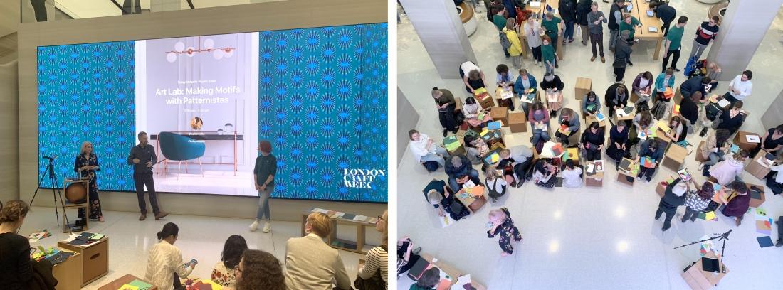 Patternistas - Apple Regent Street - Workshop