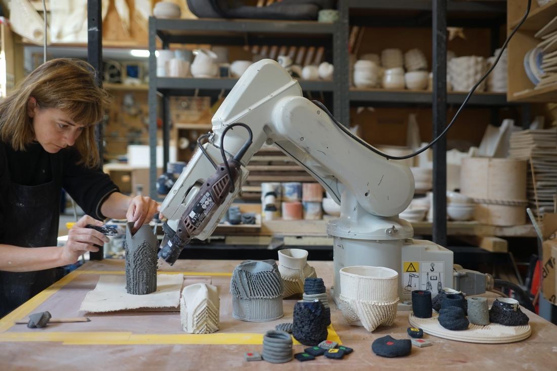 Ceramics Exhibition Building Centre Grymsdyke Farm Soft Developables (c) Guan Lee