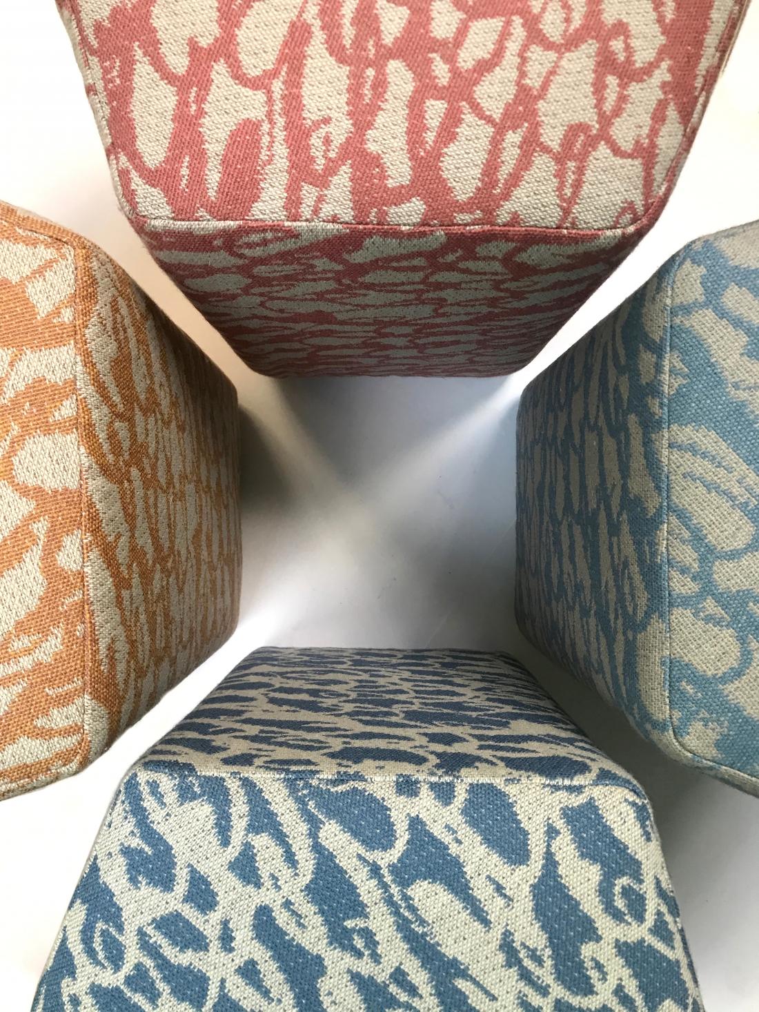 Image by Ella Doran - Julian Mayor Pentagon stools
