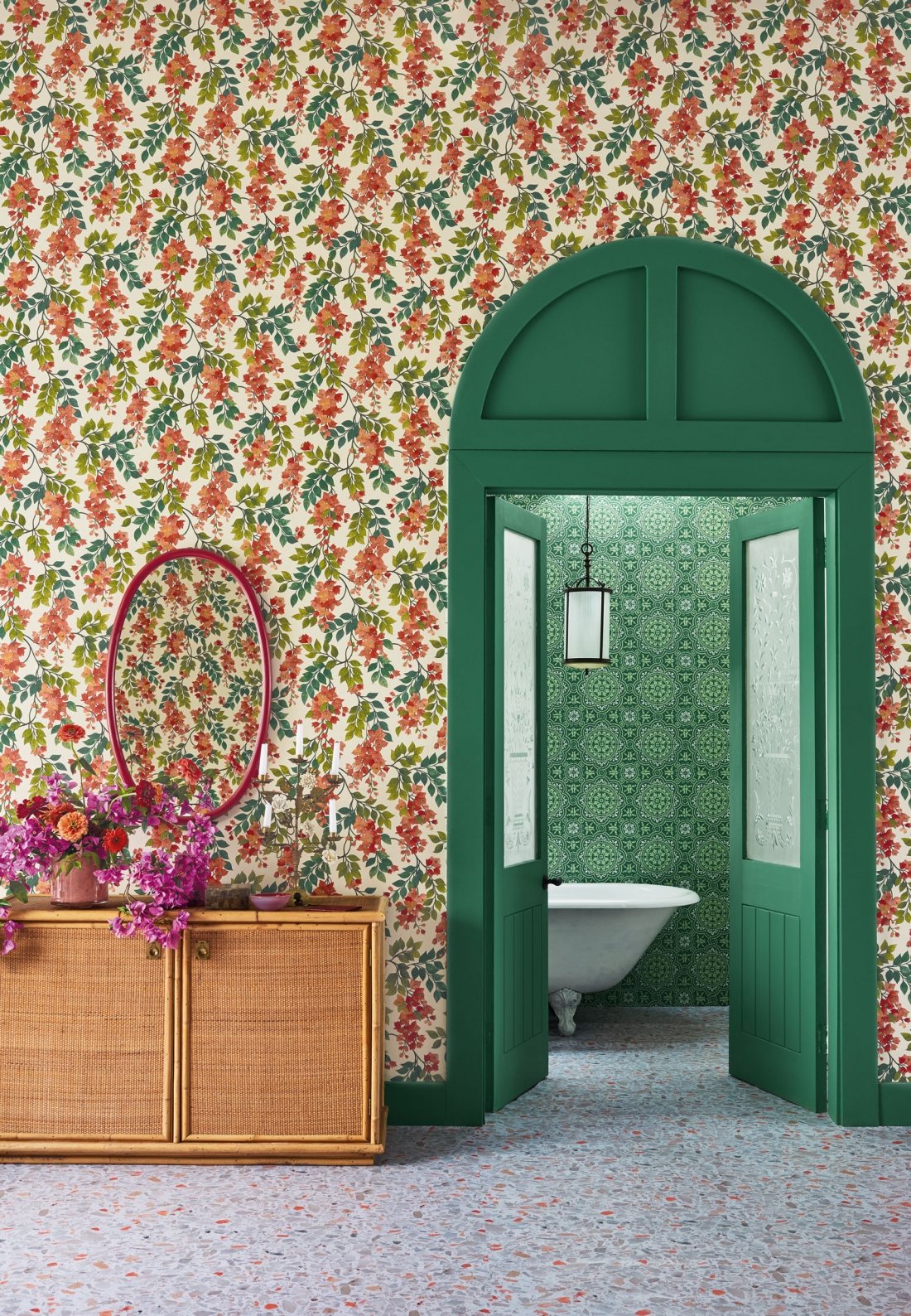 Cole & Son - Seville - Bougainvillea with Piccadilly