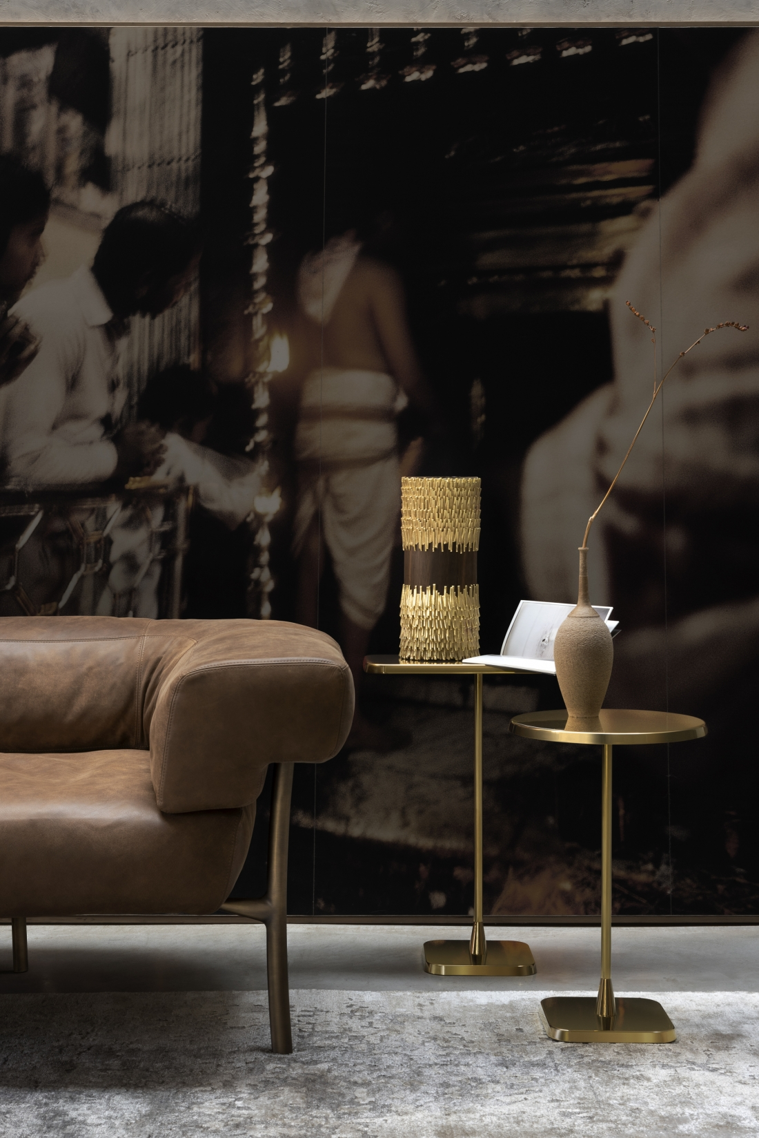 06 Katana armchair Opera tables Jackfruit vase Fabrizio Bergamo